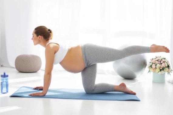 孕婦水腫抬腿